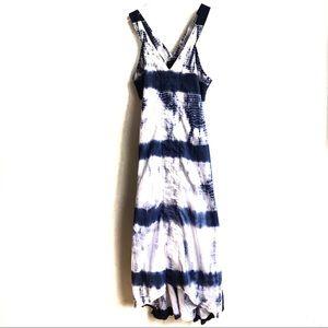 Banana Republic Aline Blue Tie Dye Maxi Dress 2